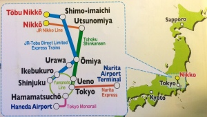 lineas tren llegar Nikko
