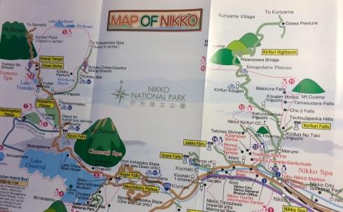 Mapa animado de Nikko, Japon