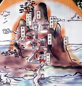 mapa animado Enoshima