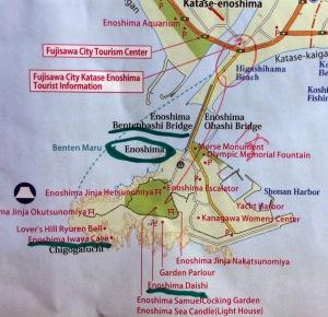 mapa enoshima