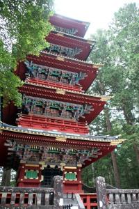 pagoda Toshogu Shrine, Nikko