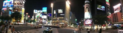Panoramica cruce Shibuya, Tokio