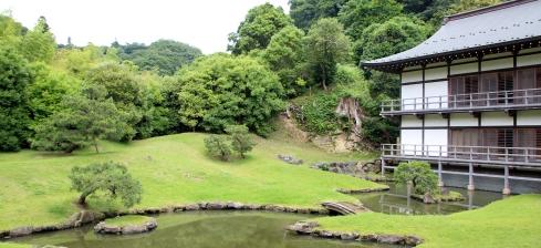 panoramica jardín japonés