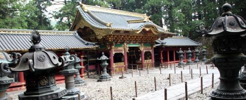 panoramica puerta entrada Taiyu-in Nikko