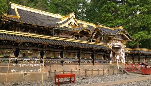 panoramica puerta entrada Toshogu Shrine, Nikko