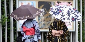 paraguas sol y lluvia Japón