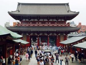 patio interior Templo Sensoji, Asakusa, Tokio 2