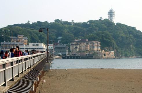 puente isla Enoshima, Japón