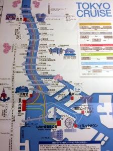 recorrido Tokyo cruise, rio sumida