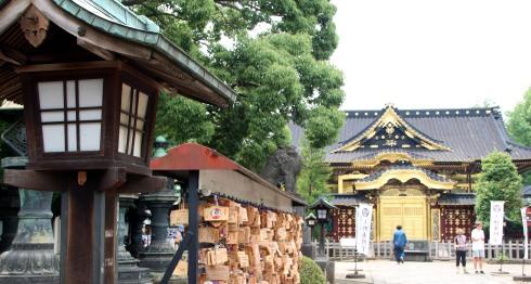 santuario de Tosho-gu, ueno, tokio