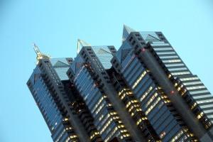 Torre Park Shinjuku- vistas desde el metropolitan government building
