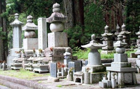 camino Templo Okuno-in , Koyasan