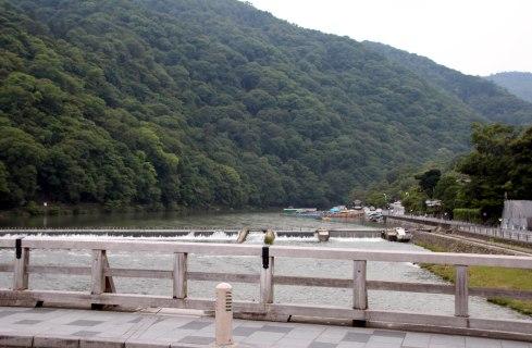 el puente Togetsukyo, Arashiyama