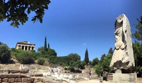 el Templo de Hefesto, agora antigua