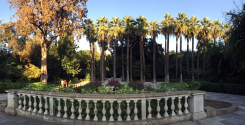 entrada jardin nacional, atenas