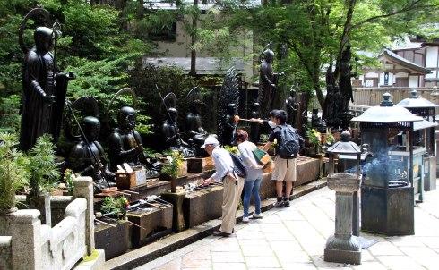 estatuas Jizo,Templo Okuno-in, Koyasan
