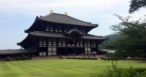exterior templo Todaiji, Nara 2