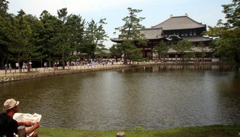 exterior templo Todaiji, Nara