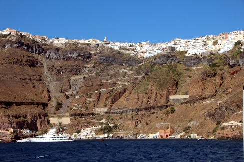 Fira en Santorini