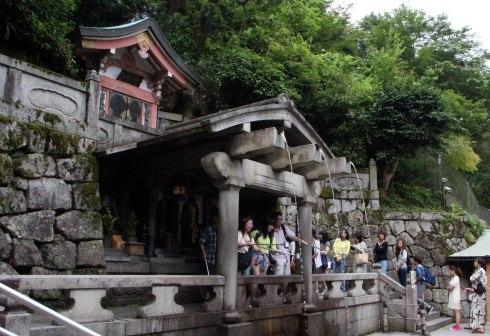 fuentes, Templo Kiyomizudera