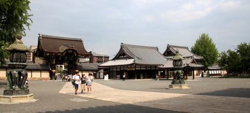 higashi honganji, entrada interior