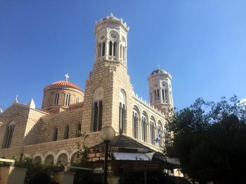 Iglesia Ayla Paraskevi, exterior, Atenas