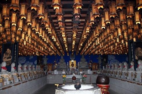 interior Daisho-in, Miyajima