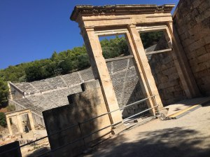 lateral Teatro Epidauro
