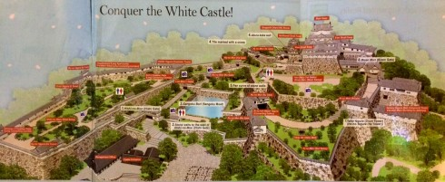 mapa castillo Himeiji