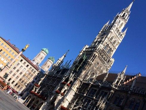 Marienplatz y el Ayuntamiento Nuevo, Munich