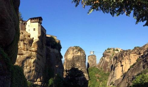Monasterio de Varlaam o de Todos los Santos, cable, Meteora