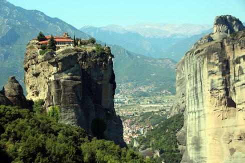 Monasterios Meteora, panoramica 2