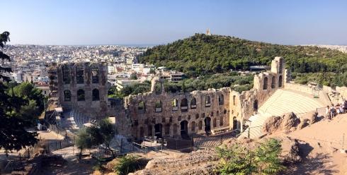 Odeón de Herodes Ático, Acropolis Atenas