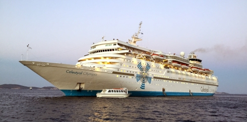 panoramica barco Celestyal Olympia