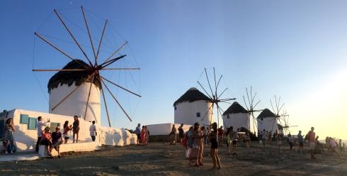 panoramica Los Molinos, Mikonos