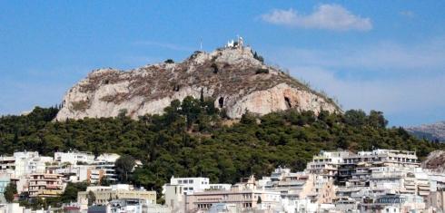 panoramica Lycabettus, vista desde el hotel Titania