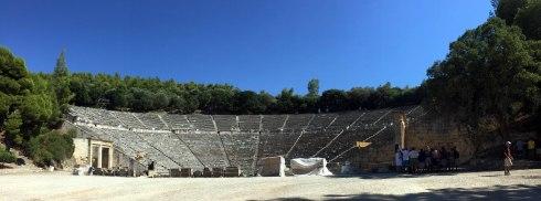 panoramica Teatro Epidauro