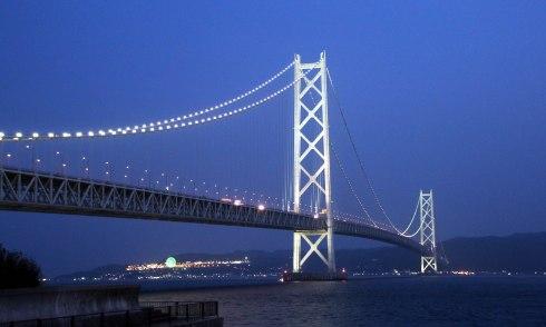 Puente Akashi Kaikyo, Kobe
