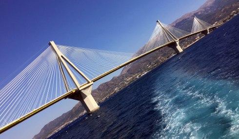 puente mas largo Europa, Grecia