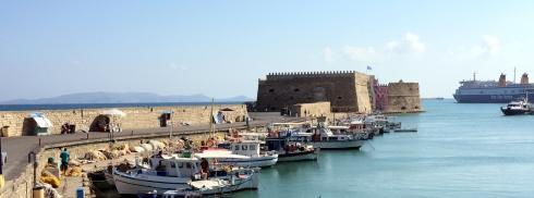 puerto de Heraklion