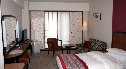 Rihga Royal hotel Kioto, habitación sencilla