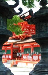 Santuario Kasuga Taisha, linternas 2, Nara