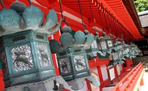 Santuario Kasuga Taisha, linternas, Nara