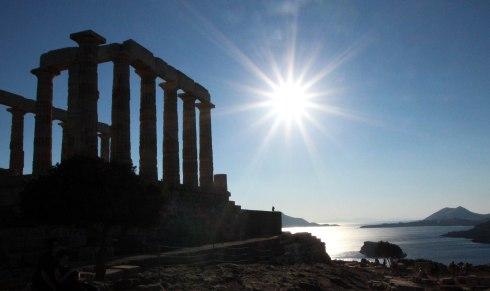 Sol Templo de Poseidón, Sounio