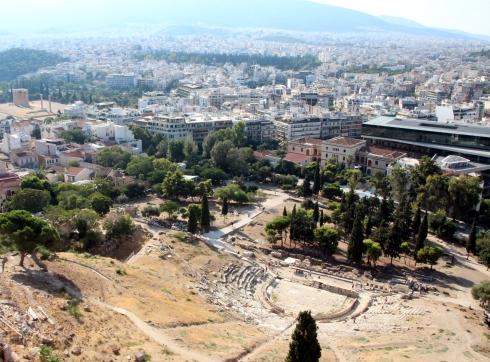 Teatro de Dioniso, Acropolis Atenas