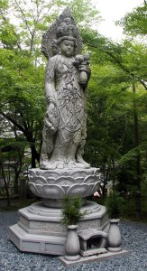 Templo Eikan-do, estatua buda