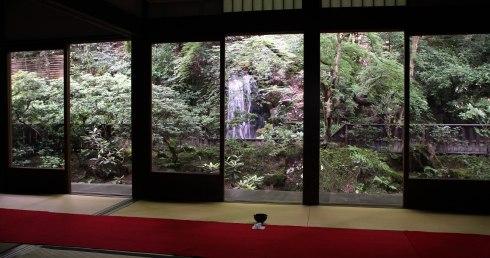 Templo Nanzenji, sala del te