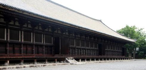 Templo Sanjusangendo, exterior