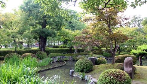 Templo Toji, jardines