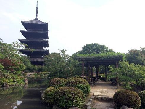 Templo Toji, pagoda